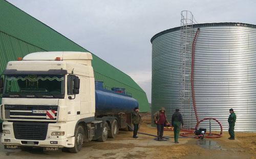 стальной резервуар для удобрений РВС 500, 1000